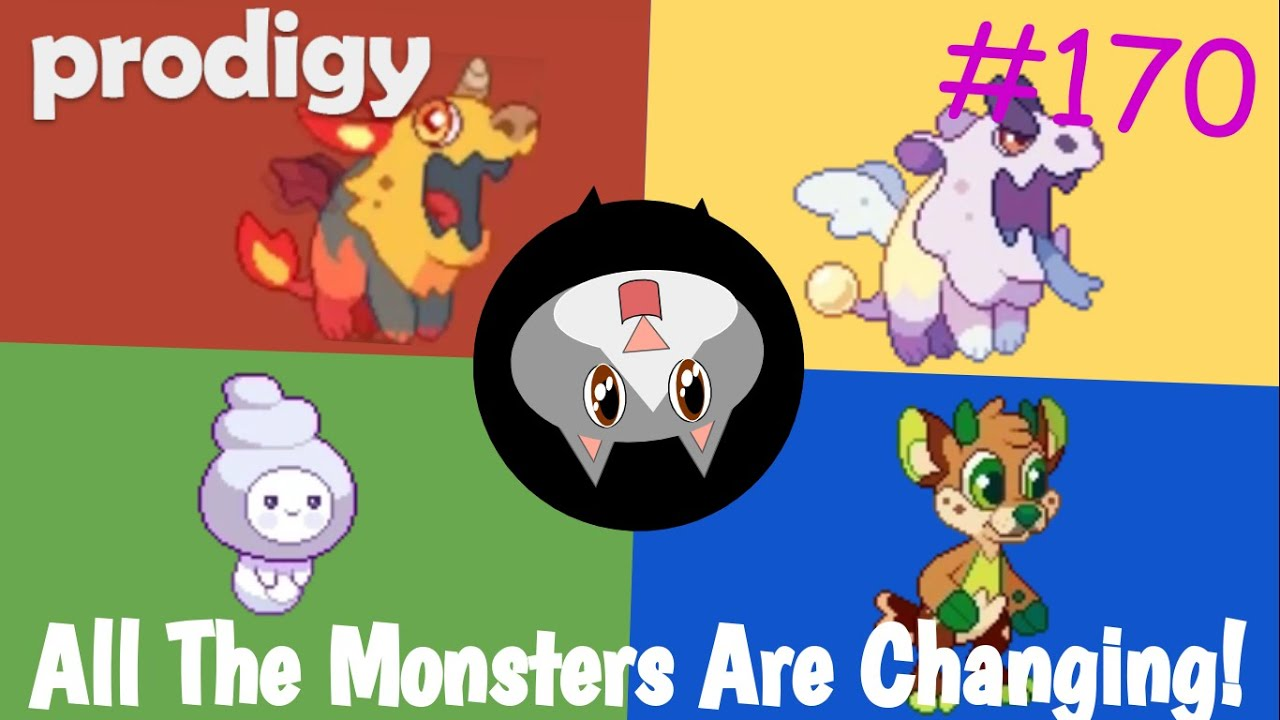 Prodigy 170 All The Monsters Are Changing Youtube