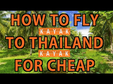 Lifehack: Get the CHEAPEST Flights to Thailand