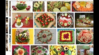Salad decoration ideas for competition in school
