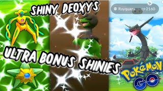 Shiny MADNESS in Pokemon GO | Ultra Bouns Week 2 Shiny Deoxys & Staryu