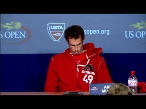 2011 US Open Press Conferences: Andy Murray (Fourth Round)