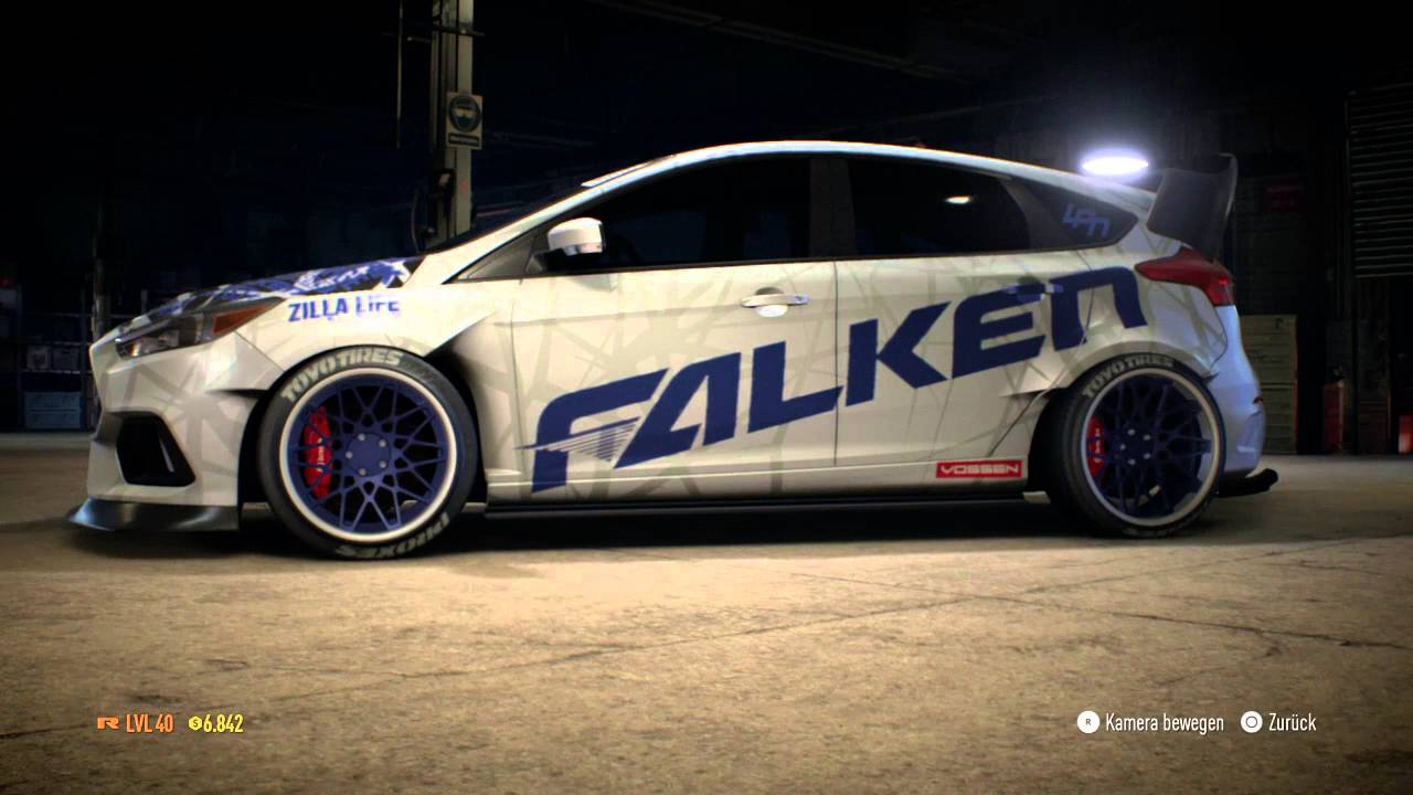 need for speed 2015 ford focus rs tuning youtube. Black Bedroom Furniture Sets. Home Design Ideas