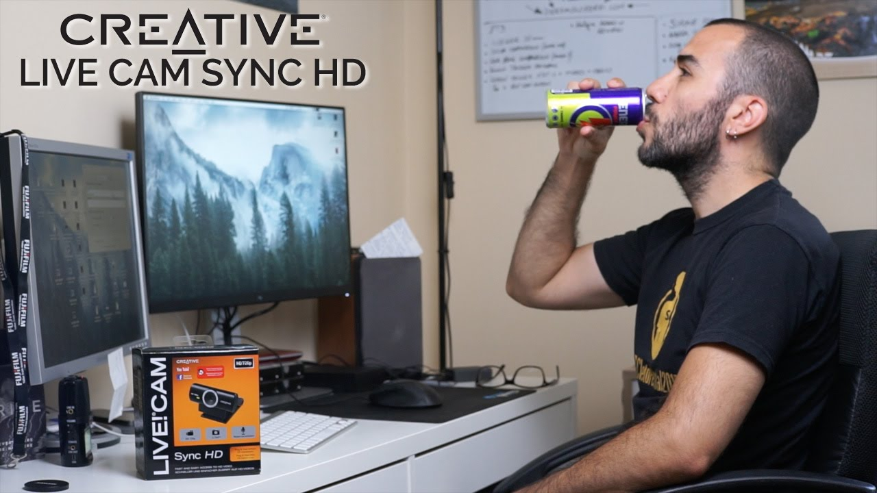 Creative Live! Cam Sync HD VF0770 Webcam Drivers Download (2019)