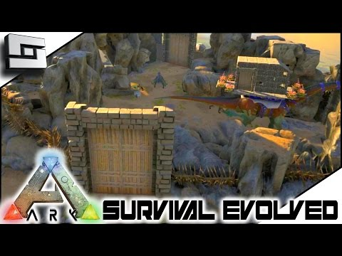 ARK: Survival Evolved - BASE WALLS! S3E26 ( Gameplay )