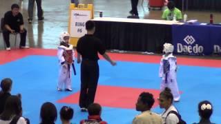 Megan Merem 2013 USAT Taekwondo Champion from Michigan