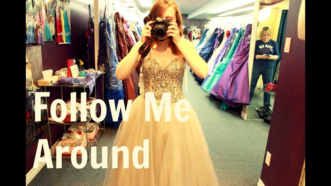 FMA: Girl's Day & Prom Dress Shopping - YouTube