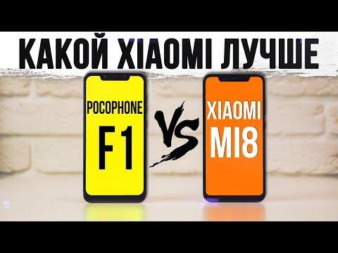 XIAOMI MI 8 vs POCOPHONE F1: Полное сравнение и Неожиданный поворот!