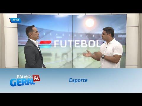 Esporte: CRB perde para o Bragantino no Rei Pelé