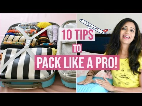 How to Pack for a Trip | PACK LIKE A PRO | Travel Organization & Packing Tips | Himani Aggarwal