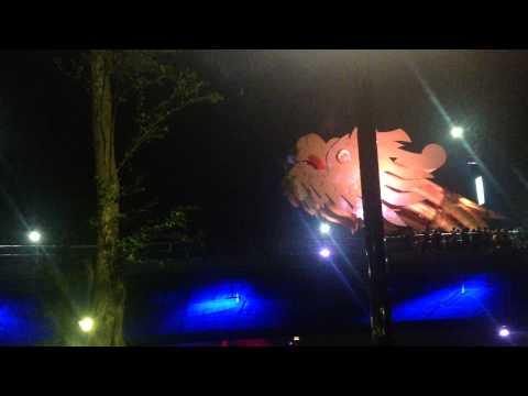 Rồng phun lửa - cầu Rồng - sông Hàn - Đà Nẵng