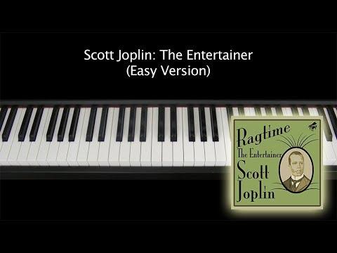 Simply Joplin Easy Piano 12 of His Ragtime Classics The Music of Scott Joplin