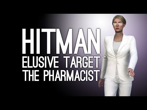 Hitman Elusive Target 10 The Pharmacist: POISON THE PHARMACIST? - 3 Ways to Play Hitman