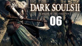 Dark Souls 2: Scholar of the First Sin Part 6 Lost Bastille and Dark Pursuer Fight