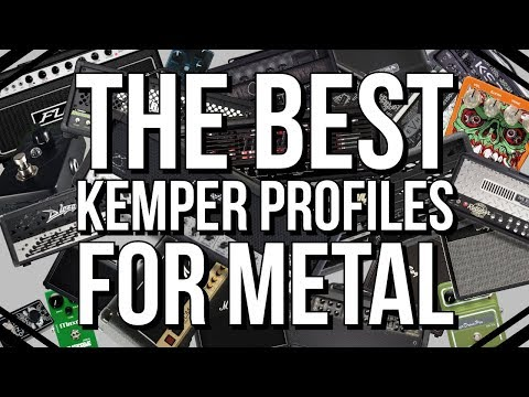 My top 30 profiles for metal rhythm guitar  - Third party