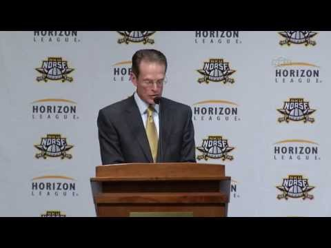 NKU Athletics: Horizon League Press Conference 5/11/15