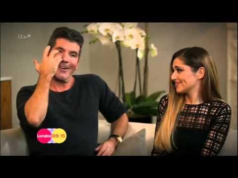 Cheryl Cole & Simon Cowell Lorraine 12th March 2014