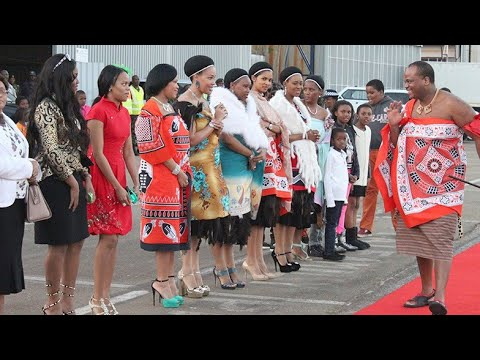 15 Wife & 100 Children king of Swaziland  - New Lifestyle