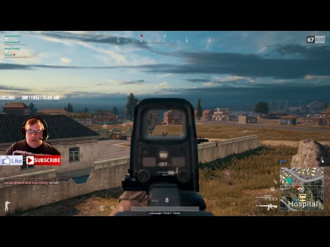 DB Gaming Streaming PUBG why did the Chicken drop at Severny?!!!!!!!