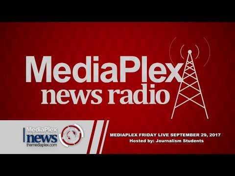 MediaPlex Friday Live with 11 a.m. MediaPlex News Radio Broadcast