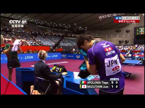 2014 WTTTC (MT-QF/JPN-POR/m2) MIZUTANI Jun - APOLONIA Tiago [HD] [Full Match/Chinese]