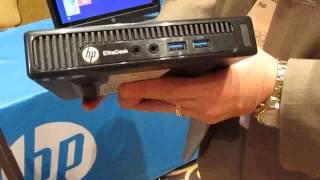 HP EliteDesk 800 mini desktop for enterprise