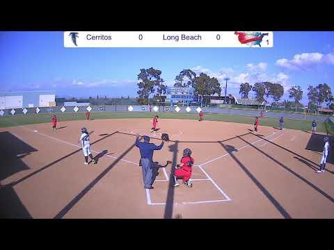 Cerritos College Softball vs Long Beach