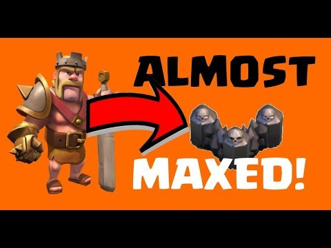 Clash of Clans MAXING TOWN HALL 8 (TH8) Let's Play - WALLS ALMOST ALL MAXED AT LEVEL 8 - Episode 95