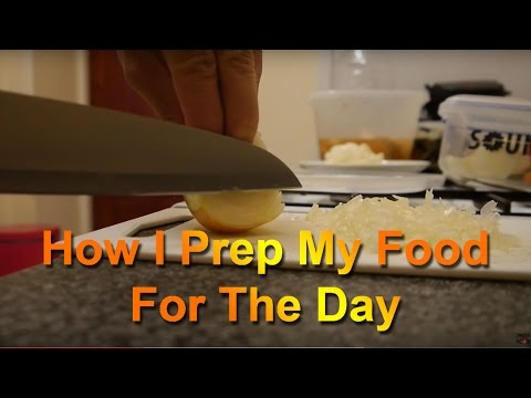 How To Prep Your Food For The Day | Ralph Winter