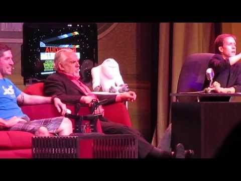 Star Wars Weekends Stars of the Saga John Ratzenberger Ray Park 6/1/14