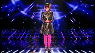 The X Factor - Katie Waissel  - Live Shows Episode1 (9/10/10 - 9th October 2010)