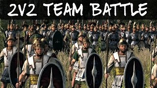 Total War Rome 2 Online Battle 160 2v2 Team Battle