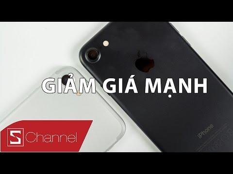Schannel - Tại sao iPhone 7 GIẢM GIÁ nhiều & nhanh thế!?!?