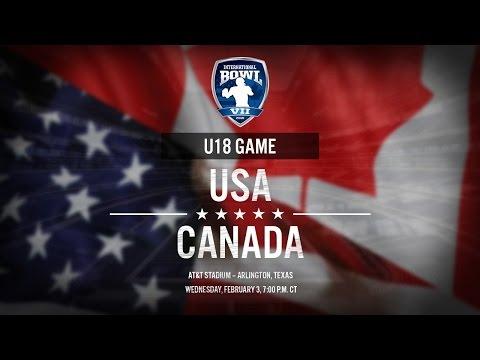 International Bowl 2016: United States U-18 vs. Canada U-18