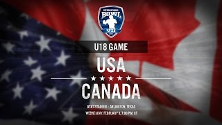 International Bowl 2016: United States U-18 vs. Canada U-18