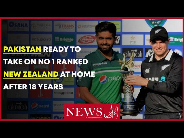Pakistan Ready To Take On No 1 Ranked New Zealand At Home After 18 Years