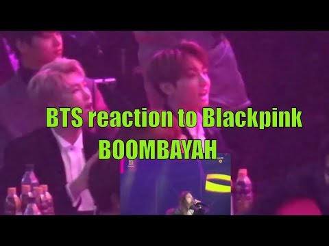 Download 170119 Bts Reaction To Blackpink Boombayah And