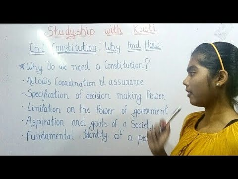 Class 11th Political Science ncert Ch-1(Part -1)
