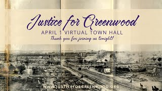 Justice for Greenwood Town Hall (April 1)