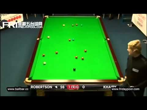 Snooker, Wuxi Classic 2013 Q - Neil Robertson makes 147!