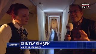 Hostesler uçakta nerede uyur?