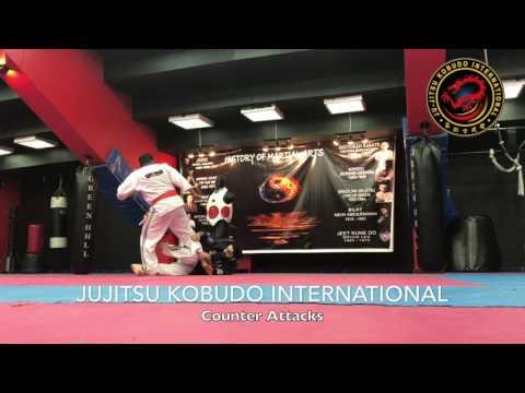 Jujitsu Counter Attack to wrest locks