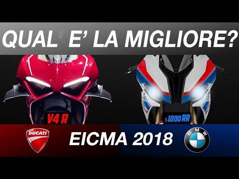 DUCATI V4R O BMW S1000RR 2019? - EICMA 2018