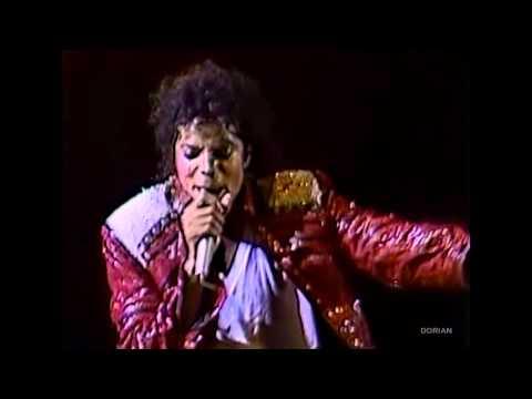 Michael Jackson - Beat It live Bad Tour in Yokohama 1987 - Enhanced - High Definition