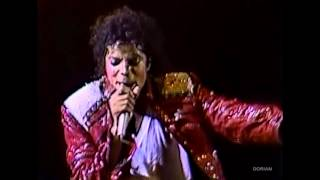 Michael Jackson - Beat It live Bad Tour in Yokohama 1987 - Enhanced - High Definition