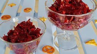 Все вкусно и быстро и только для вас!! Салат со свеклой и грибами. Рецепты салатов.
