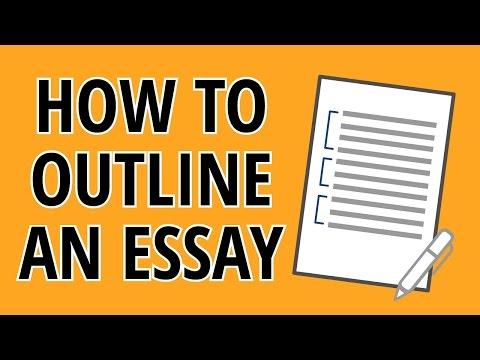 Essay Writing Outline