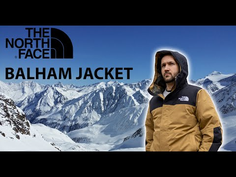 Incredible North Face Jacket - Balham Insulated Winter Jacket