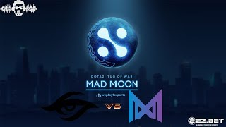 Nigma vs Team Secret | Best of 5 | WePlay! Dota 2 Tug of War: Mad Moon  | Main Stage