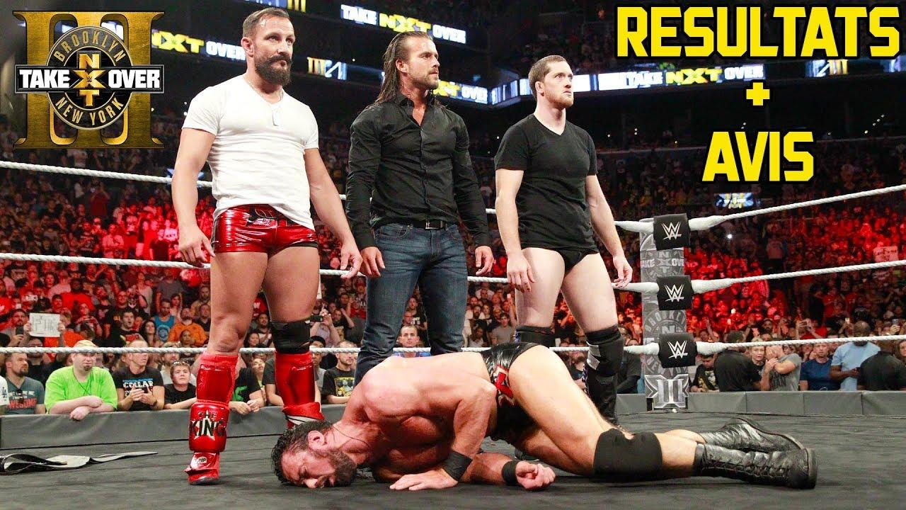 Download Résultats : NXT TakeOver Brooklyn III