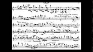 Dohnanyi, Ernst von violin concerto 2 mvt1 op.43